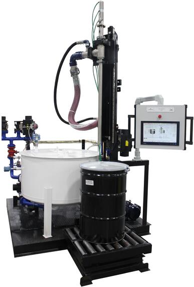 Emerson's Drum Decanting Unit with DeltaV PK Controller