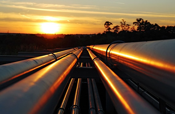 ​Pipelines serve as the delivery hub of the energy sector.