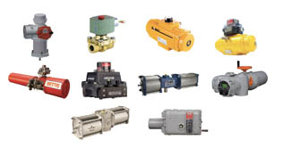 Grouping of actuators