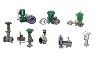 Grouping of Emerson valves