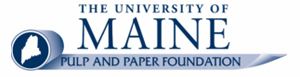 University of Maine Pulp and Paper Foundation Logo